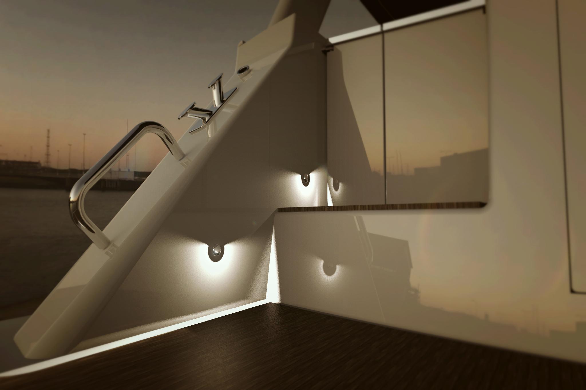 cassandra step light led marine lighting and accessoriesled marine lighting and accessories. Black Bedroom Furniture Sets. Home Design Ideas